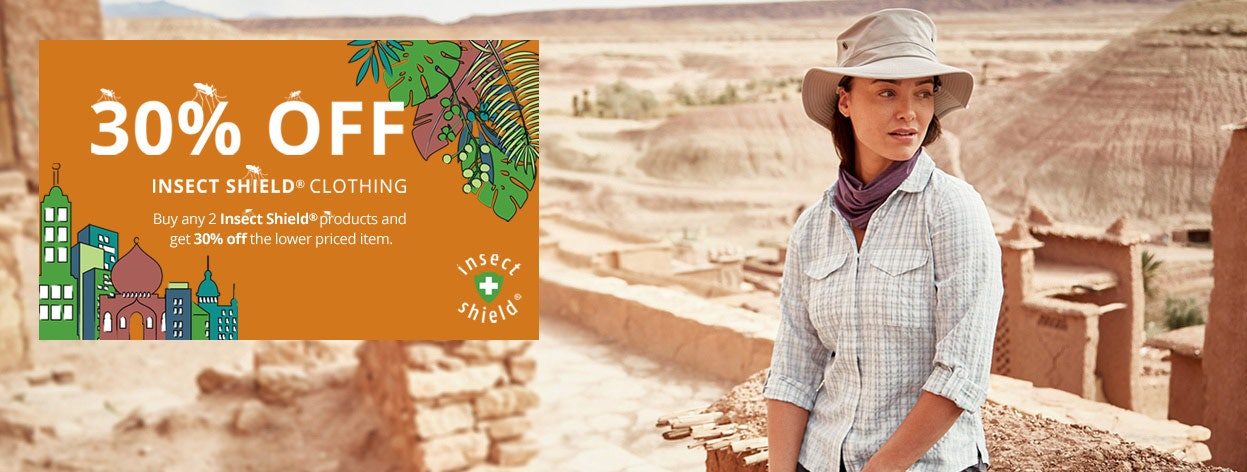 Women's Anti-insect Clothing with Insect Shield®
