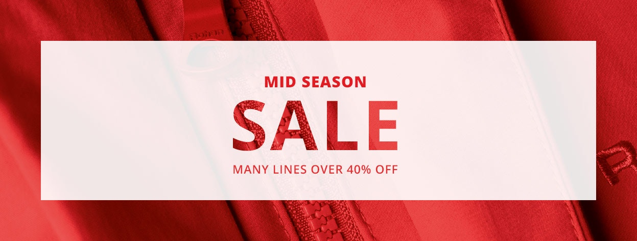 Women's Mid Season Sale